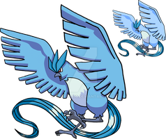 144 - Articuno - Art v.2 by Tails19950