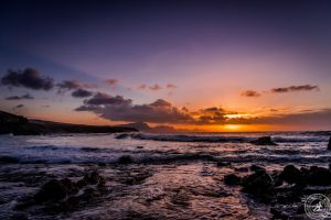 The Sundown at La Pared by BlackSunRising