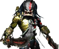 Predator God of War by Crishark