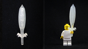 LEGO 3D Printed Great Fairy's Sword by mingles