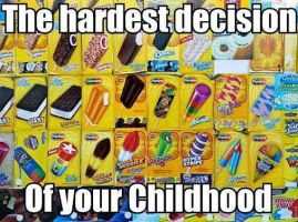 The hardest decision you've ever made by cosenza987