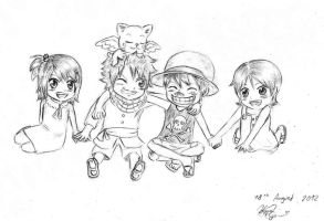 Fairy tail and One Piece crossover! by FlowerSapphire