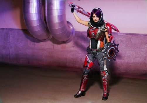 Athena from Borderlands the Pre-sequel by FriscoBlondi