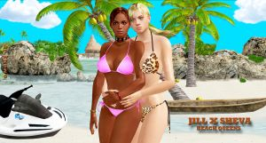 Jill X Sheva    BEACH-QUEENS by blw7920