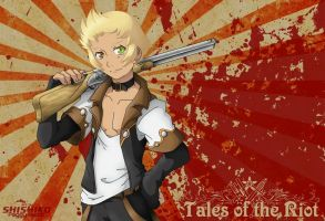 Leon - the gunman with the lion heart by Pichu-Chan