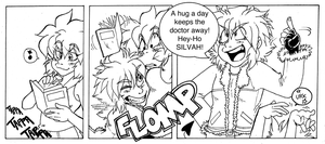Hugging Ninja episode 3 - Doctor hug by Grethe--B