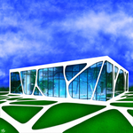 The glass house by OV-art