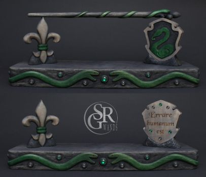 Special Wand No. 17 ''Slytherin Project'' by SRG-Wands