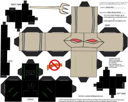 Villains 2: Black Manta Cubee by TheFlyingDachshund