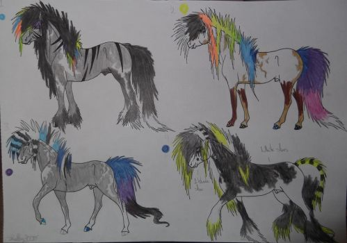 Scene Stallion Adopts - CLOSED by Shelby-3000