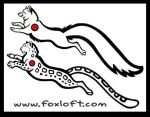 Arctic Fox Snow Leopard Tattoo by Foxfeather248