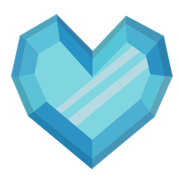 crystal heart remade by lordkalem