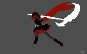 Ruby Rose of RWBY by DanTherrien101