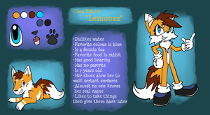 Lemonzz Ref by CleverConflict