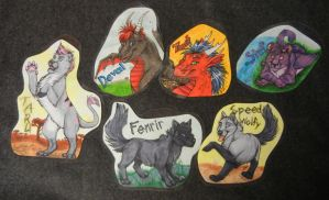 Badges by DrakonicKnight