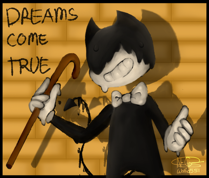 Bendy and The Ink Machine by Wolfia551