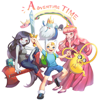 AdventureTime by yangdeer