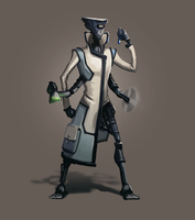 Character Scientist by F87w