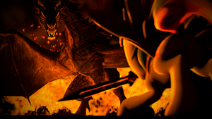 Dragon Fire [SFM] by argodaemon