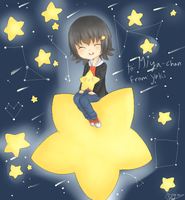 Miyako-chan And Stars by snowsteel