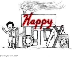 Happy Holidays 2009 by Probable-Futures
