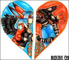 Roum and Blackcoast Badges by Roum