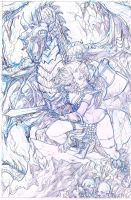 red sonja practice pencils by emmanuelxerxjavier