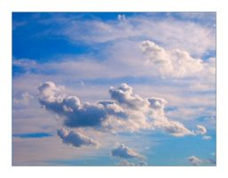 Puffy Clouds by syrenemyst