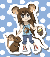 Chibi Mouse :3 by Yuumeee
