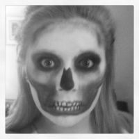 Skeleton make up by makingitup01