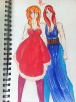 Phen and Lillian by pookalook