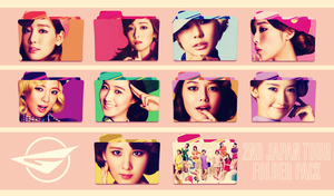 Girls' Generation ~2nd Japan Tour Folder Pack~ by FolderOvert