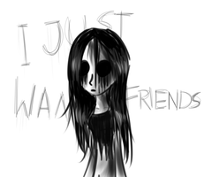 I just want friends by Lolzeeh