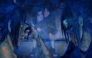 sasuke and itachi: brother... by germanyangel