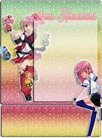 Shugo Chara  Amu Journal Skin by MsKittenCreations