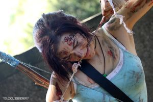 Lara Croft- Survivor is born by Fangx3