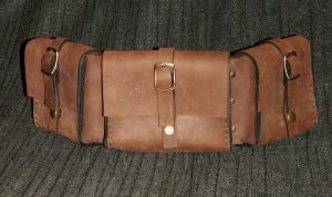 Triple Belt Pouch by Spoon333