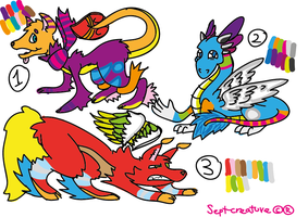 .:Adoptables-POINTS:. CLOSED by Sept-creature