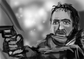 Guy With Gun by frostherz
