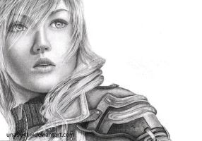 Lightning Farron - FFXIII by Una9641