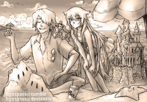 Pandora Hearts - Summer Time by KGxspace