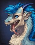 Azzari Portrait by Shadow-Wolf