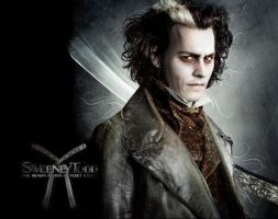 Sweeney Todd Wallpaper by LoveLydetective
