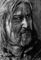 Boromir, The Lord of the Rings by LittleDragonZ