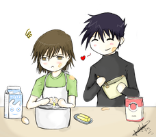 Junjou Egoist - Cooking Time by daniparra