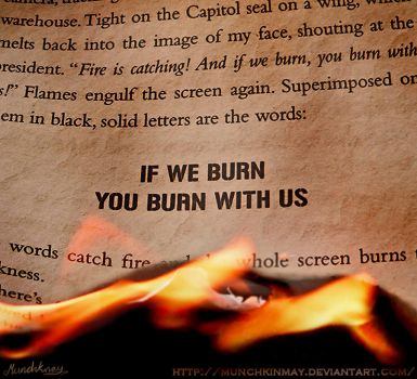 ...And the whole screen burns... by Munchkinmay