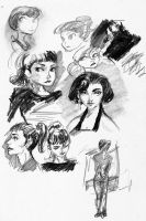 Audrey Sketches by MethylKy06