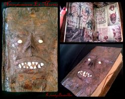 Necronomicon Ex Mortis: the Book of the Dead by KlunkyBoots