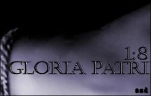 Gloria Patri 1:8 by angeljunkie