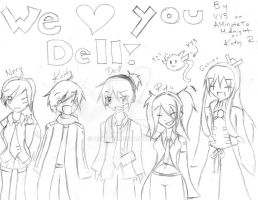 We Love you Dell by Ask-VY3